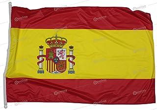 comprar comparacion Bandera España 150x100 cm en tela náutico resistente al viento 115g/m²,bandera española 150x100 lavable,bandera de Espana ...