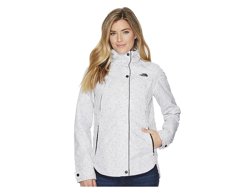 The North Face Ditmas Rain Jacket (TNF White Slub) Women