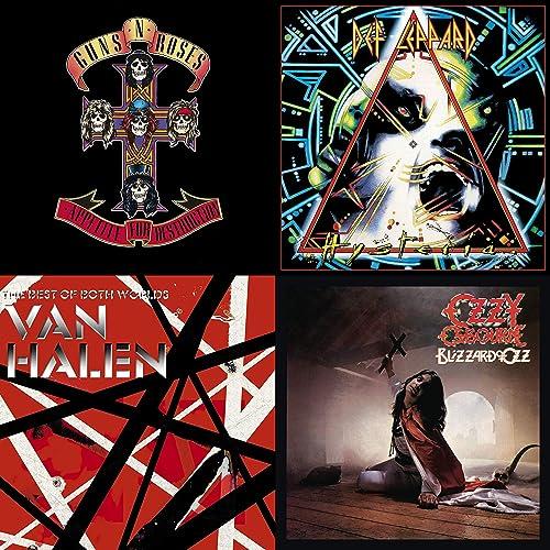 50 Great Hair Metal Songs by Queensrÿche, Ozzy Osbourne, Def