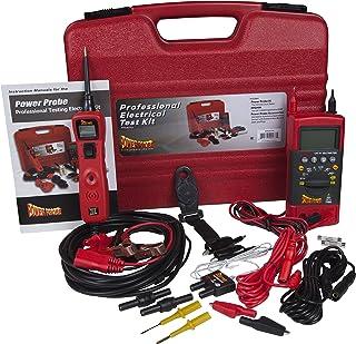 Power Probe PPROKIT01 Red Professional Testing Electrical Kit
