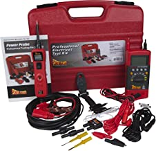 Power Probe PPROKIT01 Red Professional Testing Electrical Kit