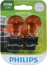 Philips 3757NALLB2 LongerLife Miniature Bulb, 2 Pack