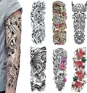 Temporäre Tattoos Extra Große, Full Arm Temporäre Tattoo