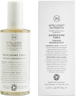 Intelligent Nutrients Nourishing Tonic for All Skin Types - Plant Stem Cells & Rosewater Spray - Alcohol-Free & Vegan (3.3 oz)