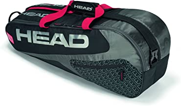 HEAD Elite 6R Combi Tennis Racquet Bag - 6 Racket Tennis Equipment Duffle Bag