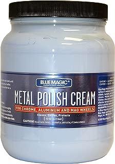 Blue Magic 550-02PK Metal Polish Cream - 1.89 Liter, (Pack of 2)