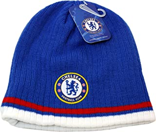 Chelsea FC Official SOCCER One Size Knit Beanie Hat by Rhinox