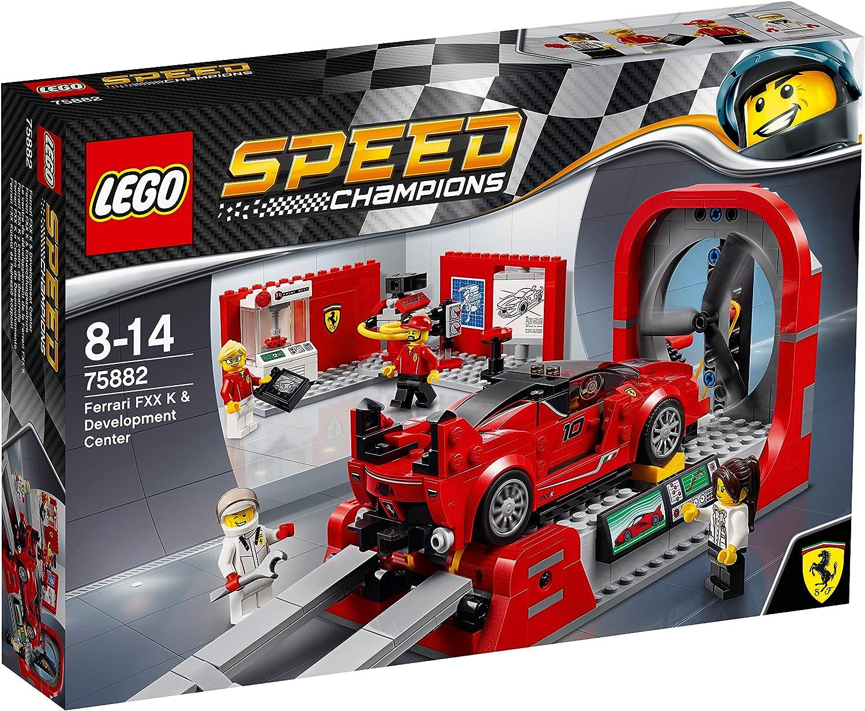 LEGO Speed Champions 75882  Ferrari FXX K & Development Center  Building Set