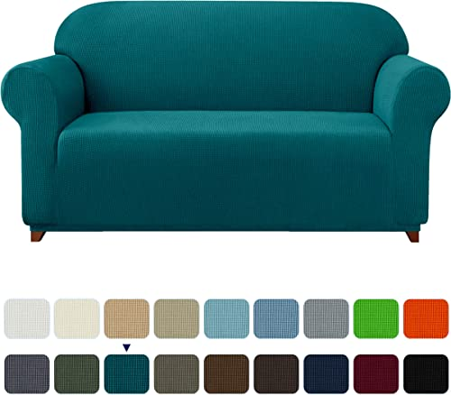 subrtex 1 Piece Stretch Sofa Cover Spandex Jacquard Fabric Slipcovers for Couch, Armchair, Anti-Slip Furniture Protec...