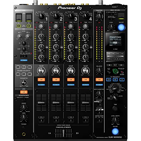 Pioneer DJ プロフェッショナルDJミキサー DJM-900NXS2