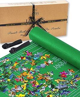 Puzzle Gonflable Roll Upto 1500 Pcs - Tapis de Puzzle avec Toile Pliable - À Ranger dans Un Espace réduit Lorsque Non gonf...