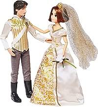 Disney Rapunzel and Eugene Classic Wedding Doll Set - Tangled Ever After