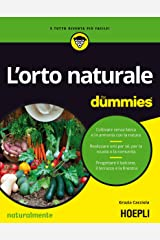 L'orto naturale for dummies Formato Kindle