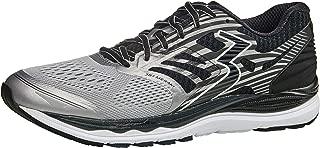 361 Degrees Men's Meraki High Performance Everyday Training Lightweight Running Shoe, Sleet/Black, 11EE