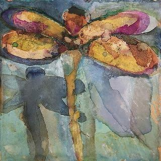 Libélula 7. Lámina Decorativa Colección De Acuarelas Libélulas. Excelente Reproducción De Cuadro Para Decoración De Salón,...