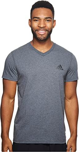 adidas - Ultimate V-Neck Short Sleeve Tee