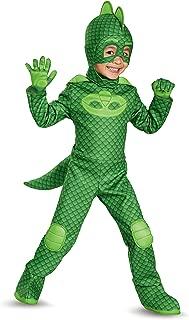 Disguise Gekko Deluxe Toddler PJ Masks Costume (X-Large/7-8)