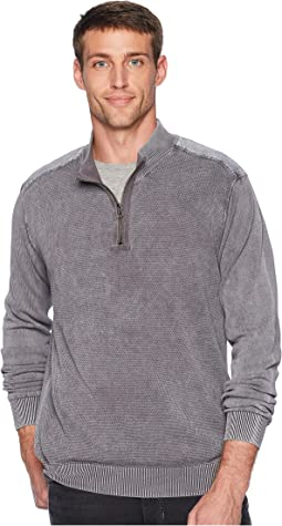 T-Street 1/4 Zip Pullover Cotton Sweater