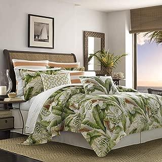 Tommy Bahama Palmiers Comforter Set, King, Medium Green
