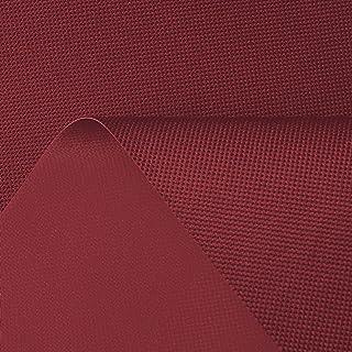 www.aktivstoffe.de 7,49€/m Breaker Wasser dicht - Oxford Polyester Stoff mit Beschichtung - Winddicht, wasserdicht, beschichtet - Segeltuch per Meter, weinrot