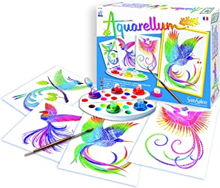 Distrifun (Sento) - Loisirs créatifs - Aquarellum Junior Oiseaux