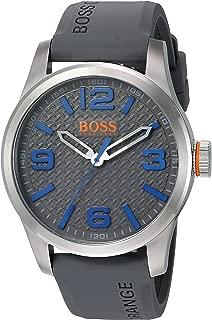Orange Men's Paris Quartz Stainless Steel Casual Watch (Model: 1513349)