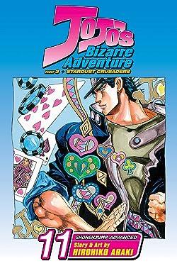 JoJo's Bizarre Adventure: Part 3--Stardust Crusaders (Single Volume Edition), Vol. 11: D'Arby the Gambler (11)
