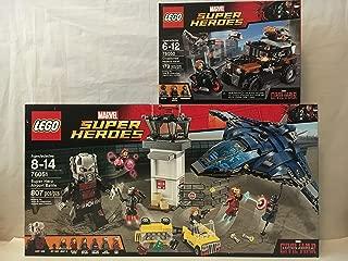 LEGO Super Heroes Super Hero Airport Battle & LEGO Crossbones' Hazard Heist