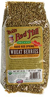 Bob's Red Mill Organic Hard Red Spring Wheat Berries, 28-ounce