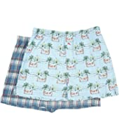 Tommy Bahama - Printed Cotton Modal Jersey 2-Pack Boxer Set