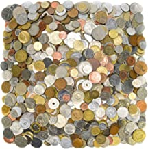 2lb CIRCULATED WORLD FORIEGN COINS,HEAVIER,LARGER,OLDER,A MIX OF OLD AND NEW World coin collection set.NO TOKENS.