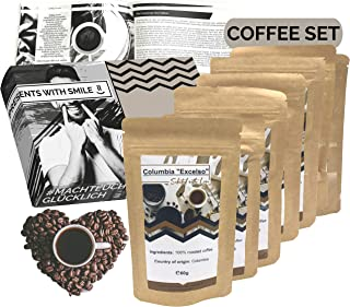 Coffee trip around the world 360g box as a sample package of fine coffee from all over the world in a gift box as a gift f...