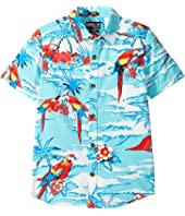 O'Neill Kids - Macaw Short Sleeve Woven (Big Kids)