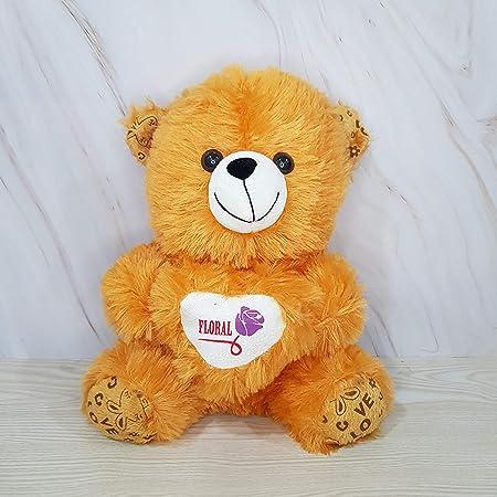 Kiddie Toys Animal Kingdom Teddy Bears Soft Toys for Girls (Brown, 45 cm)