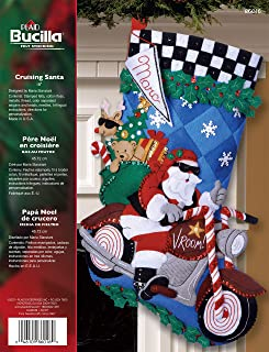 Best bucilla motorcycle santa stocking Reviews