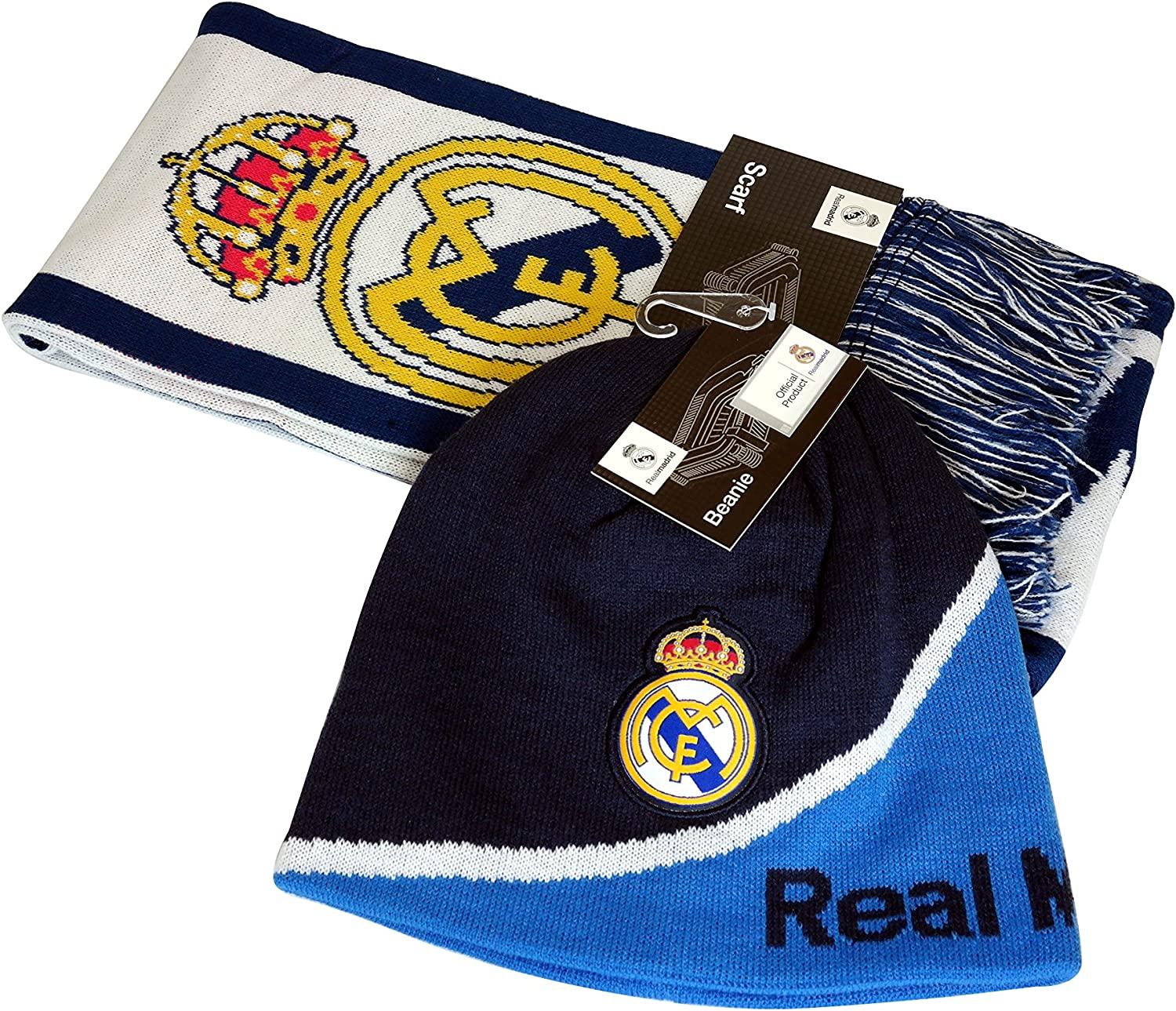 Real Madrid C.F. Authentic Official Licensed Product Soccer Beanie