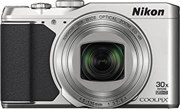 Nikon COOLPIX S9900 Digital Camera with 30x Optical Zoom and Built-In Wi-Fi (Silver)