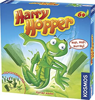 Harry Hopper | A Kosmos Game | Family-Friendly, Flicking & Dexterity Fun | for 2 - 4 Players, Ages 6+