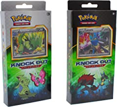 Pokemon TCG: Knock Out Collection Random Deal | Get 3 Rare Foil Lucario, Bisharp, and Zoroark OR Tyranitar, Shiftry and Vivillon | Plus 2 Booster Packs Trading Card Set