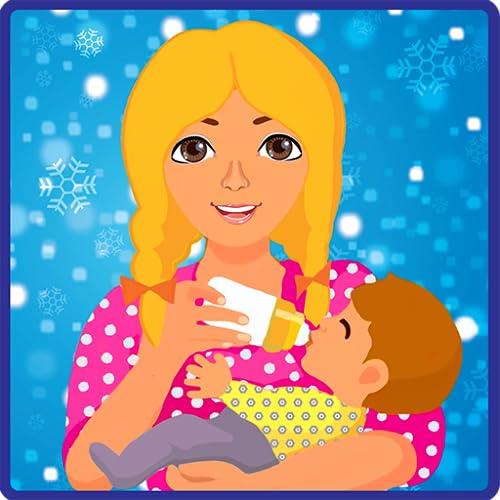 Verrückte Baby-Tagespflege - Mama & Papa