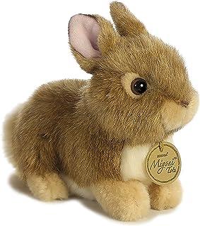 Aurora World Miyoni Baby Bunny Plush, Tan - 26256,7 inches