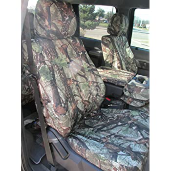Duck Weave Break-Up Country SSC7384CAMB Covercraft Carhartt Mossy Oak Camo SeatSaver Second Row Custom Fit Seat Cover for Select Toyota FJ Cruiser Models