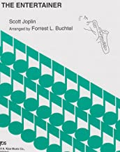 The Entertainer for Alto Saxophone and Piano by Scott Joplin