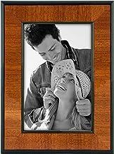 إطار صور خشبي من خشب الجوز مع حواف سوداء من شركة مالدن إنترناشونال ديزاينز 4 by 6-inch 602-46