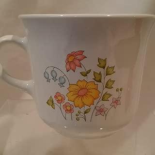 Vintage Corelle Spring Meadow Cup, Corning Spring Meadow Coffee Cup