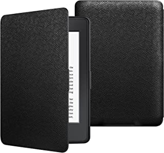 Jetech Funda Amazon Kindle Paperwhite, Se Adapta a Todas Las Generaciones de Paperwhite Anteriores a 2018 (No es Compatible 10ª Generación), Negro