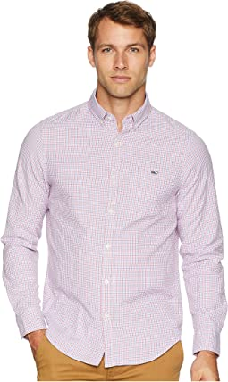 Belle Haven Plaid Slim Tucker Shirt