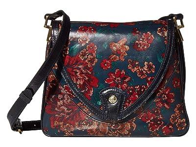 Patricia Nash Alimena Flap Crossbody (Fall Tapestry) Cross Body Handbags