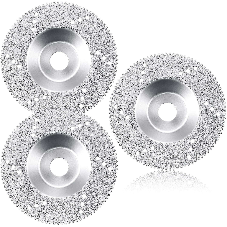 3 Pieces Diamond Max 54% OFF Saw Blade Cutting Grinder Diameter Disc Inch 4 Austin Mall