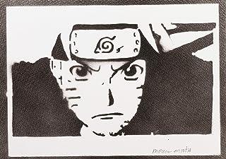 Poster Naruto Grafiti Hecho a Mano - Handmade Street Art - Artwork